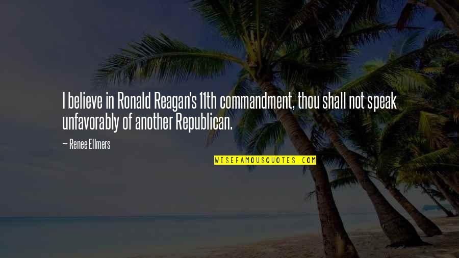 Toronto Exchange Real Time Quotes By Renee Ellmers: I believe in Ronald Reagan's 11th commandment, thou