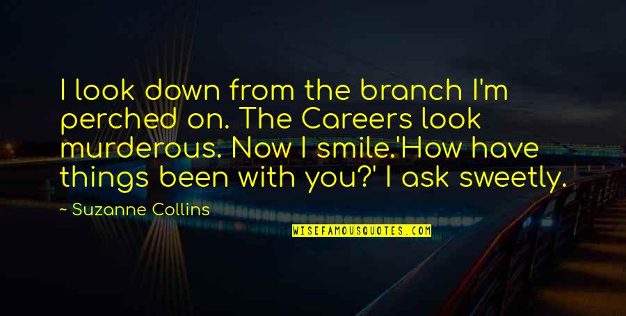 Toronto Exchange Real Time Quotes By Suzanne Collins: I look down from the branch I'm perched