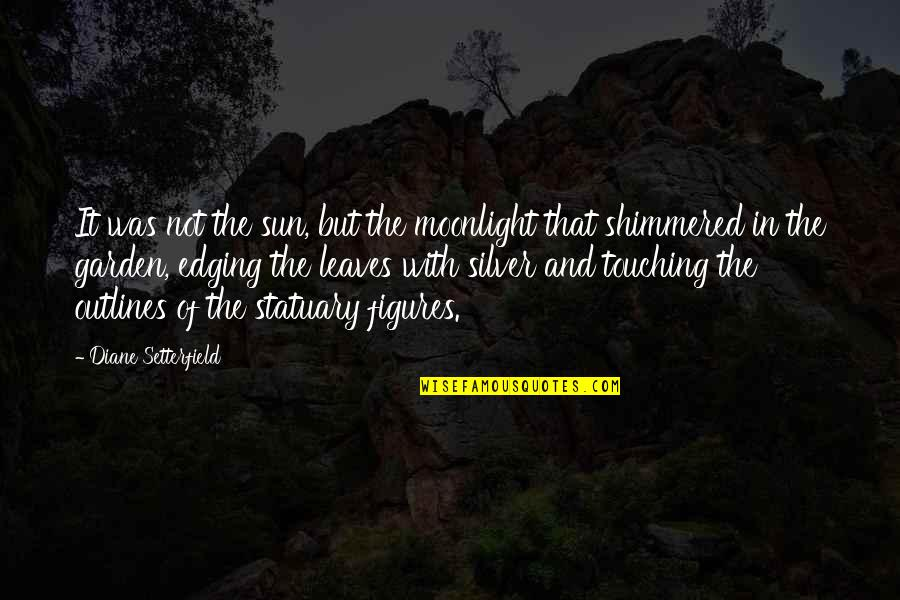 Touching Quotes By Diane Setterfield: It was not the sun, but the moonlight