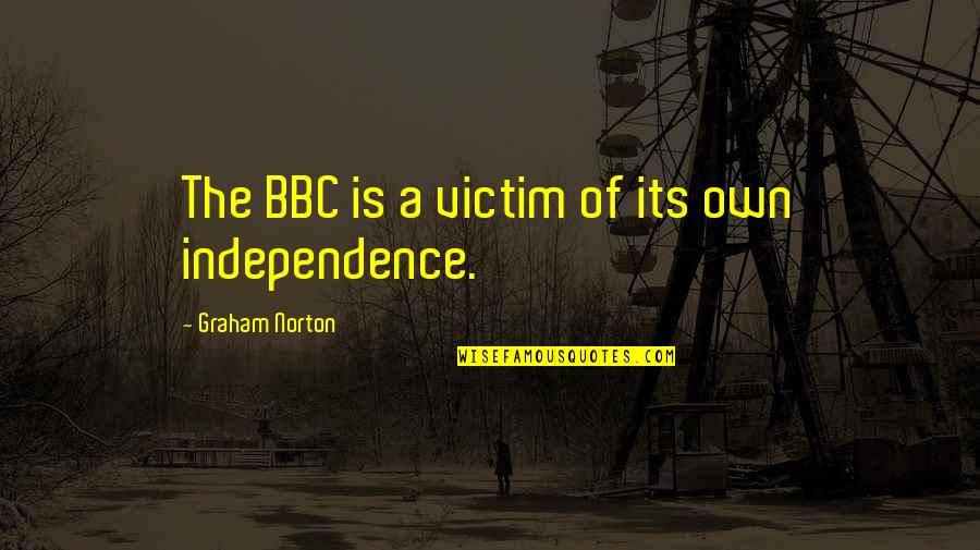 Treasure Island Black Spot Quotes By Graham Norton: The BBC is a victim of its own