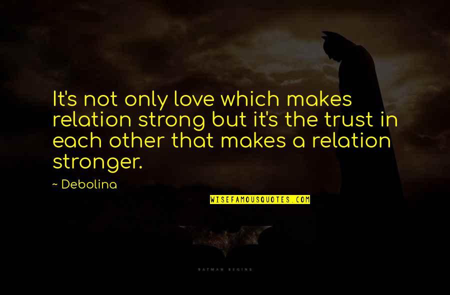 Trust in relation