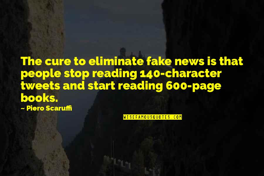 Tweets Quotes By Piero Scaruffi: The cure to eliminate fake news is that