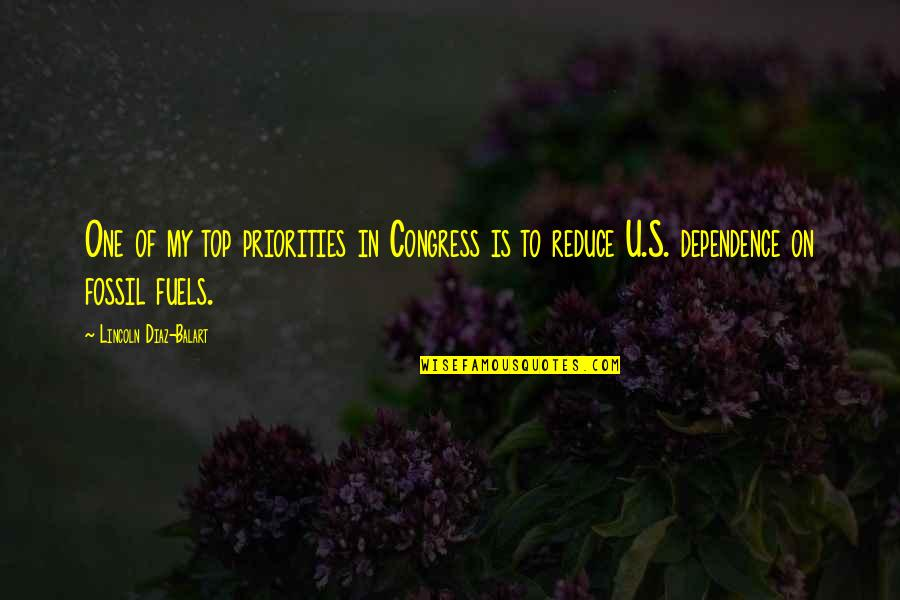 U.s Quotes By Lincoln Diaz-Balart: One of my top priorities in Congress is