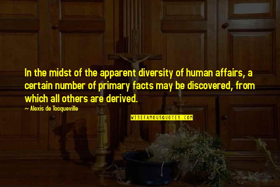 Unforgiven 1992 Quotes By Alexis De Tocqueville: In the midst of the apparent diversity of