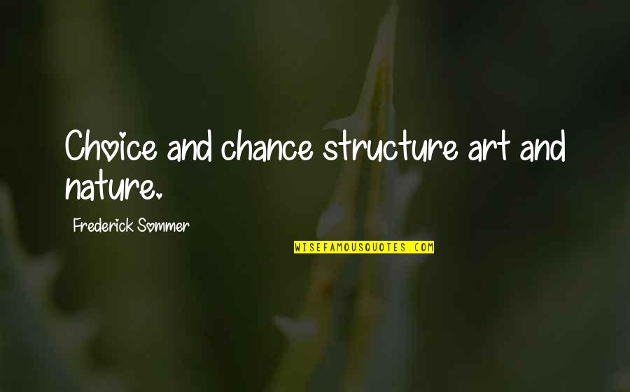 Utf 8 Double Quotes By Frederick Sommer: Choice and chance structure art and nature.