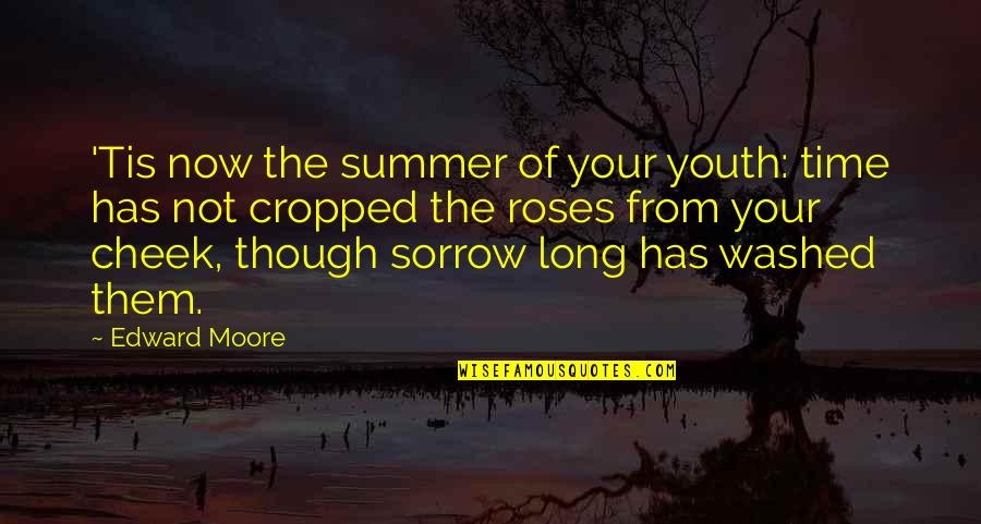 Utlilitarian Quotes By Edward Moore: 'Tis now the summer of your youth: time