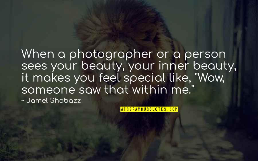 Vegabons Quotes By Jamel Shabazz: When a photographer or a person sees your