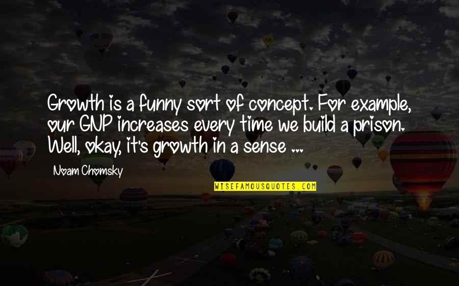 Verandah Quotes By Noam Chomsky: Growth is a funny sort of concept. For