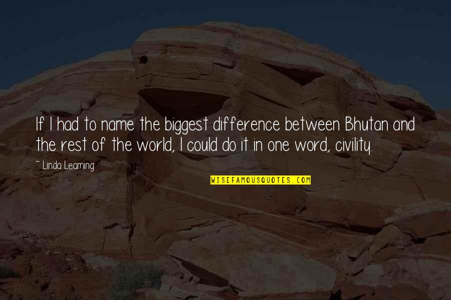 Voodou Quotes By Linda Leaming: If I had to name the biggest difference