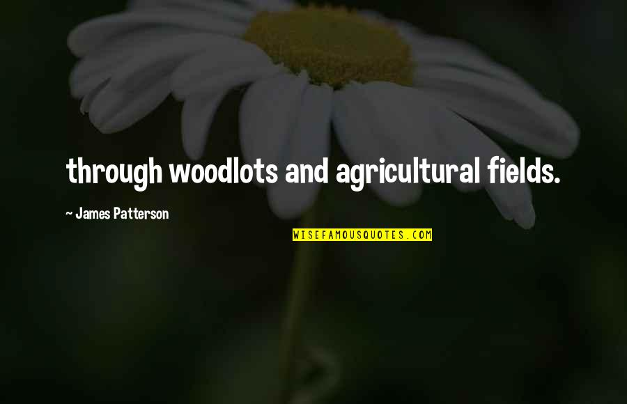 Walang Kwentang Magulang Quotes By James Patterson: through woodlots and agricultural fields.