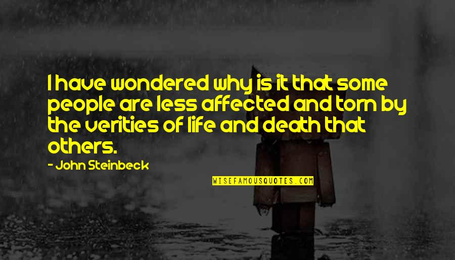 Walgreens Stock Quotes By John Steinbeck: I have wondered why is it that some