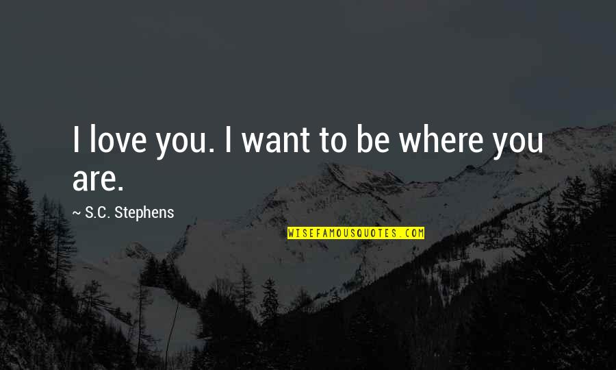 Walgreens Stock Quotes By S.C. Stephens: I love you. I want to be where