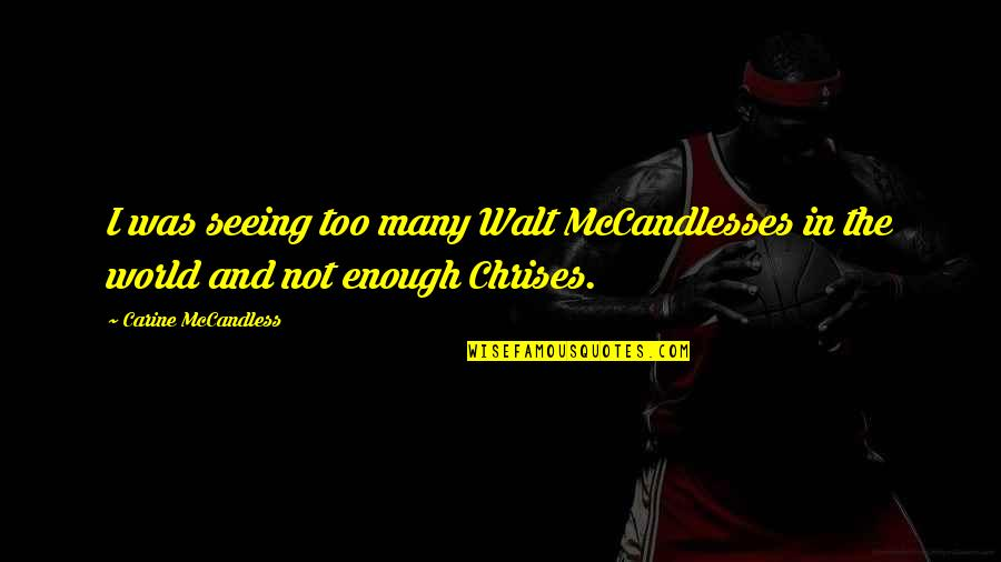 walt mccandless