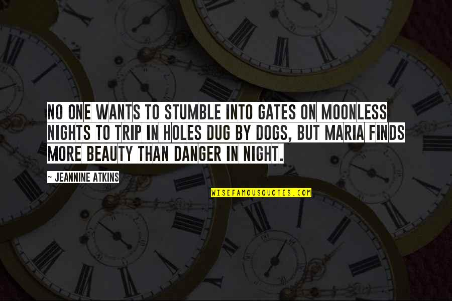 We All Stumble Quotes By Jeannine Atkins: No one wants to stumble into gates on