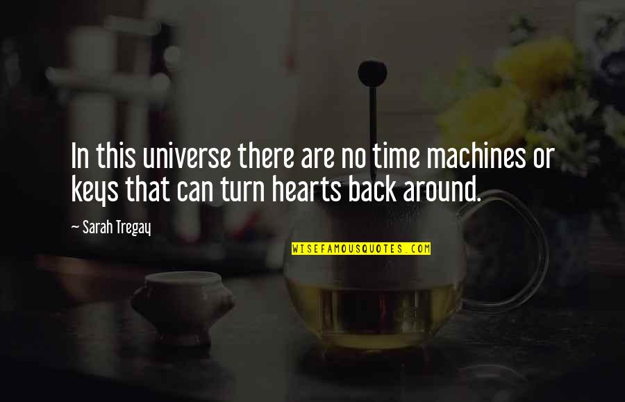 We Can't Turn Back Time Quotes By Sarah Tregay: In this universe there are no time machines