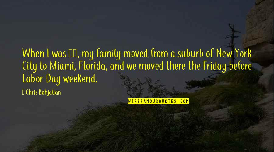We Moved Quotes By Chris Bohjalian: When I was 13, my family moved from