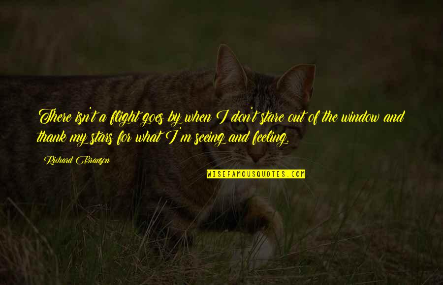 What Are These Feelings Quotes By Richard Branson: There isn't a flight goes by when I