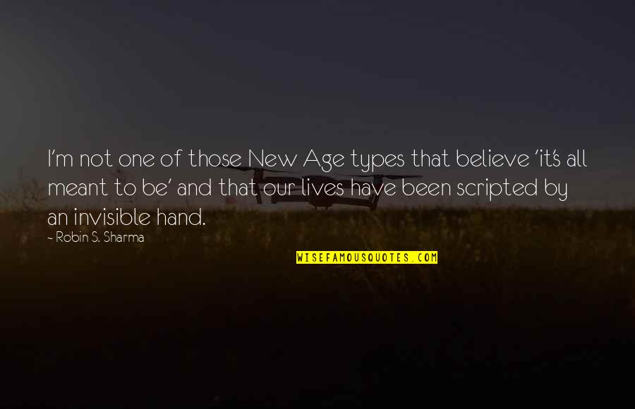 What's The Point Picture Quotes By Robin S. Sharma: I'm not one of those New Age types