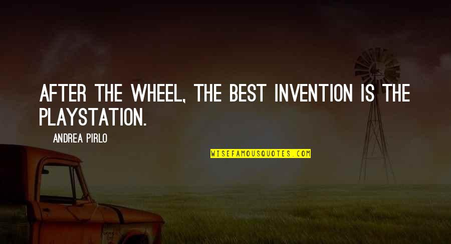 Wheels Quotes By Andrea Pirlo: After the wheel, the best invention is the