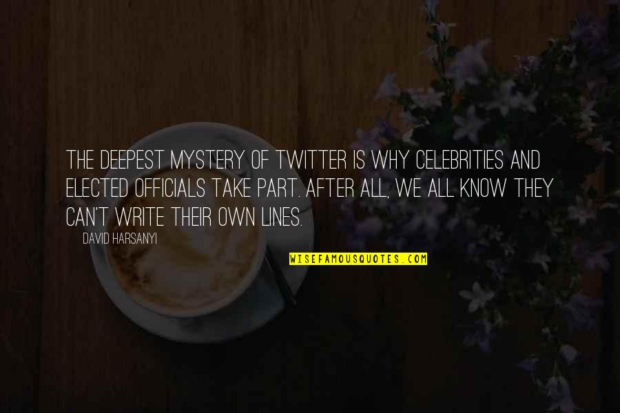 Why We Write Quotes By David Harsanyi: The deepest mystery of Twitter is why celebrities