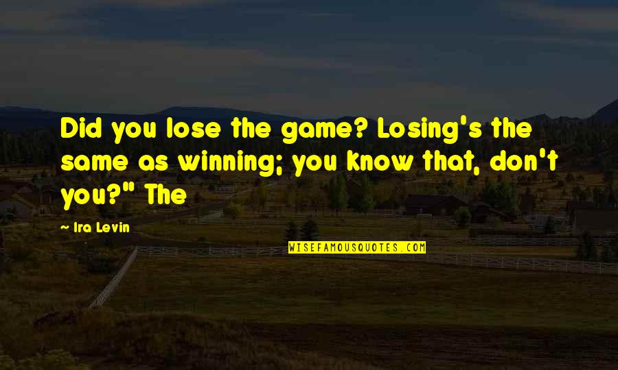 Winning Without Losing Quotes Top 38 Famous Quotes About Winning