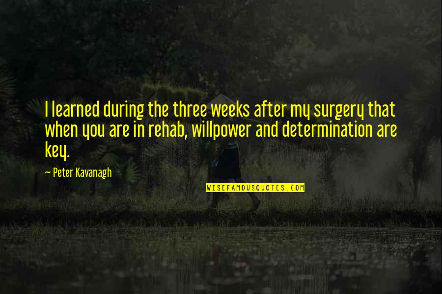 Wishes For Marriage Anniversary Quotes By Peter Kavanagh: I learned during the three weeks after my