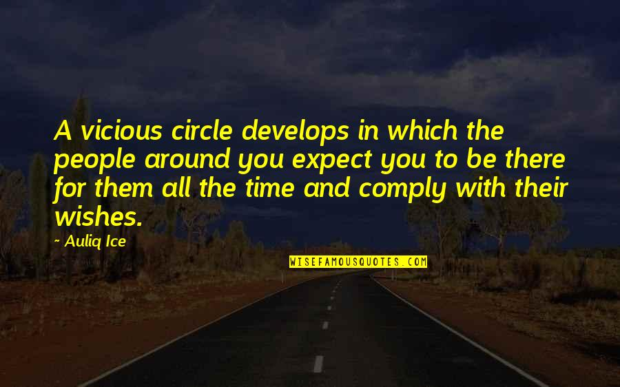 Wishes For Success Quotes By Auliq Ice: A vicious circle develops in which the people