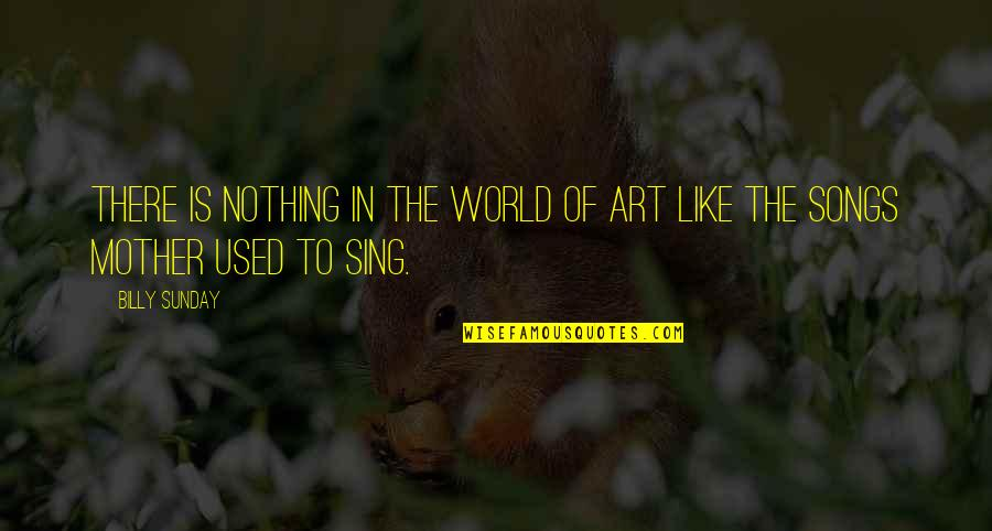 World Art Day Quotes By Billy Sunday: There is nothing in the world of art