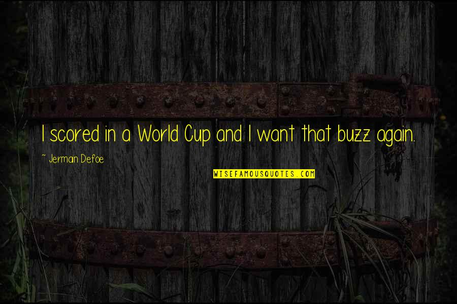 World Cup Quotes By Jermain Defoe: I scored in a World Cup and I