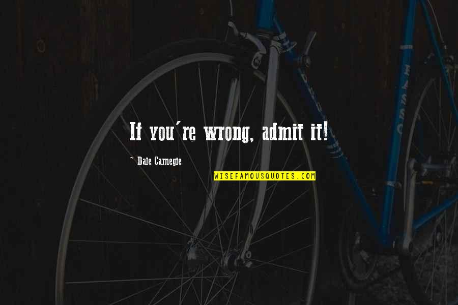 Xslt Transform Double Quotes By Dale Carnegie: If you're wrong, admit it!