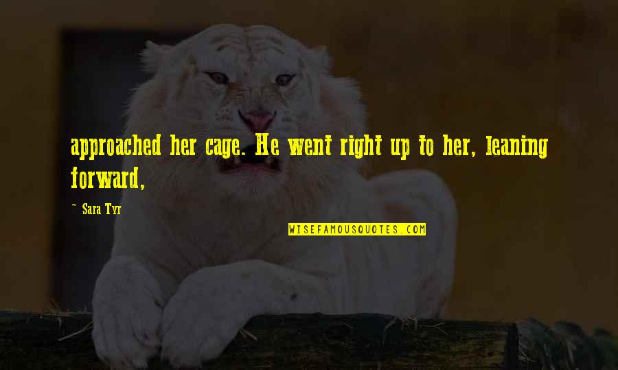 Xslt Transform Double Quotes By Sara Tyr: approached her cage. He went right up to