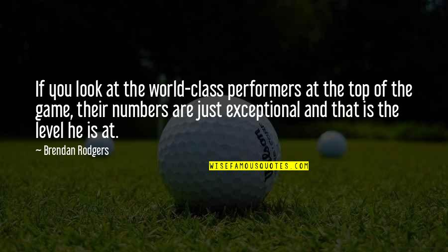 Yahoo International Stock Market Quotes By Brendan Rodgers: If you look at the world-class performers at