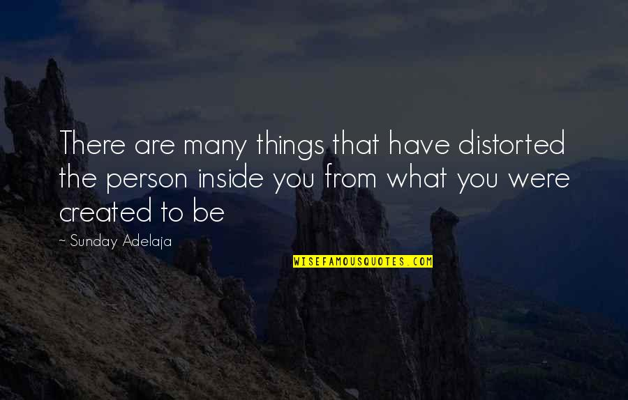 You Have Purpose Quotes By Sunday Adelaja: There are many things that have distorted the