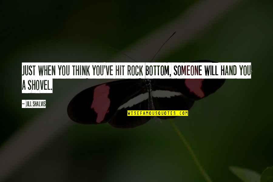 You Hit Rock Bottom Quotes Top 33 Famous Quotes About You Hit Rock