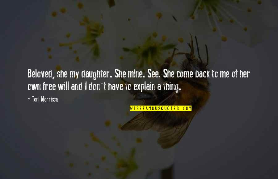 You Will Come Back To Me Quotes Top 33 Famous Quotes About You Will