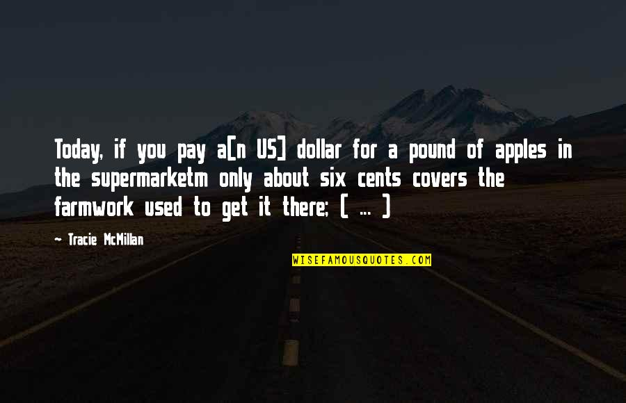 You'll Pay Quotes By Tracie McMillan: Today, if you pay a[n US] dollar for