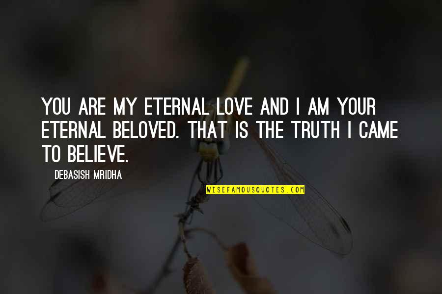 Your Happiness Is My Happiness Love Quotes By Debasish Mridha: You are my eternal love and I am