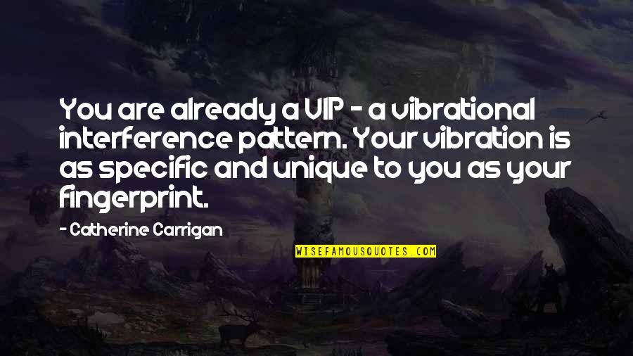 Your Vibration Quotes By Catherine Carrigan: You are already a VIP - a vibrational