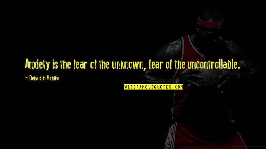 Youtube Lego Movie Quotes By Debasish Mridha: Anxiety is the fear of the unknown, fear
