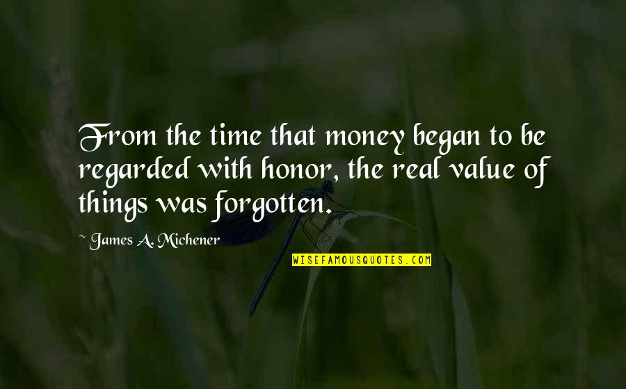 Youtube Lego Movie Quotes By James A. Michener: From the time that money began to be