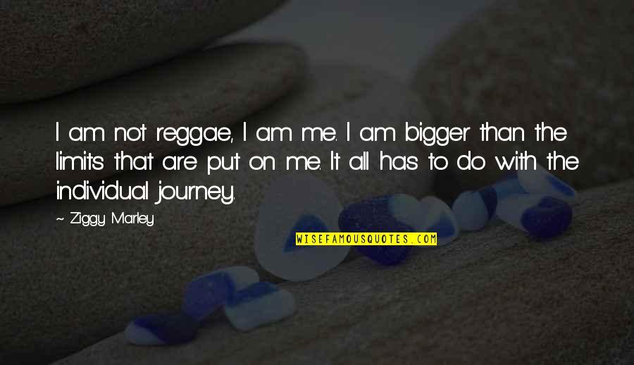 Ziggy Marley Quotes By Ziggy Marley: I am not reggae, I am me. I