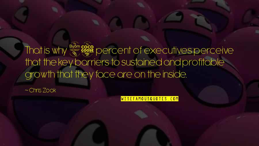 Zook Quotes By Chris Zook: That is why 85 percent of executives perceive