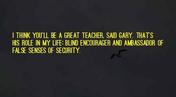 A Teacher's Role Quotes