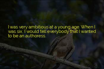 Authoress Quotes