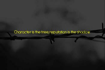 Character Reputation Quotes