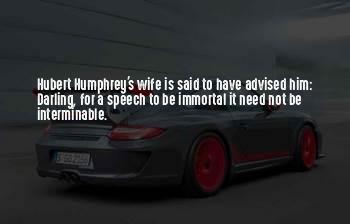 Hubert's Quotes
