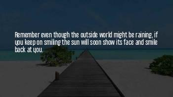 Keep On Smiling Quotes