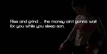 No Sleep Grind Quotes