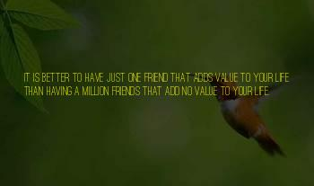 One In A Million Friendship Quotes