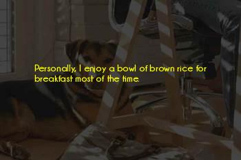 Rice Bowl Quotes